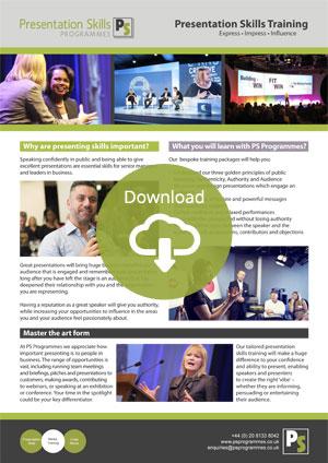 Crisis Media Management Training Brochure