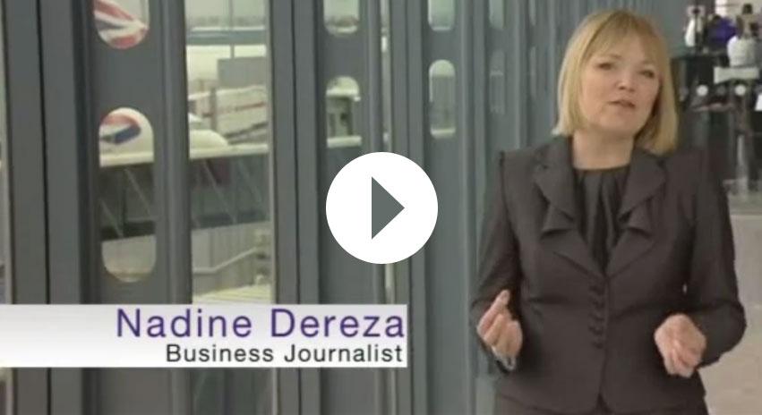 Nadine Dereza investigating Heathrow Airport Crisis