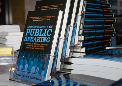 Insider Secrets of Public Speaking - Book Launch