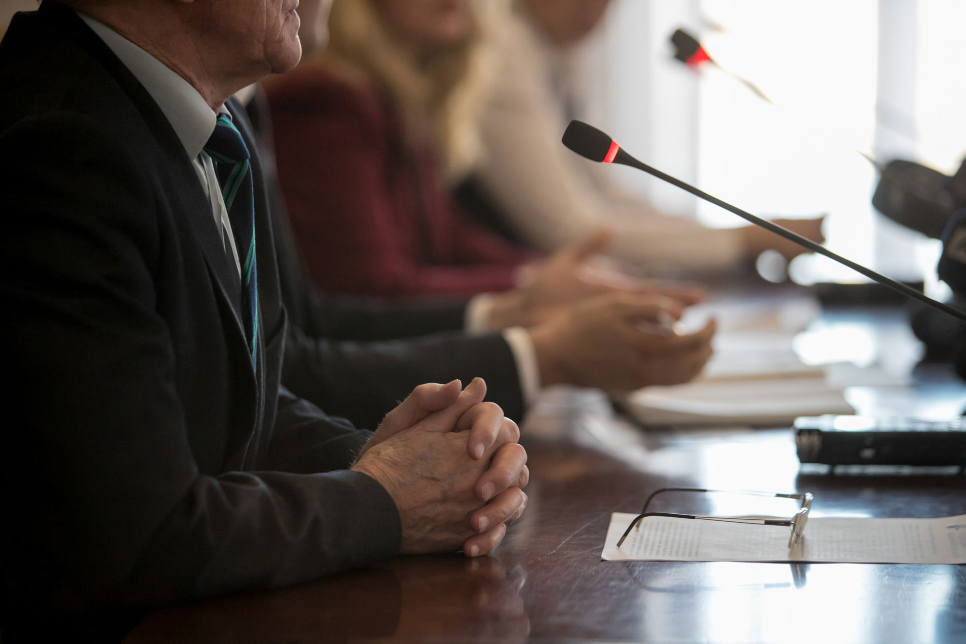 Role-play the Select Committee with an experienced panel