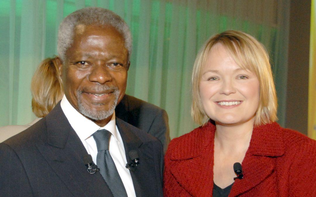 Kofi A. Annan – 'An African at heart, but a global citizen, symbolising the best of humanity'.